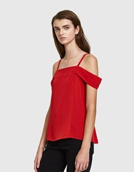 Farrow Tula Blouse Red