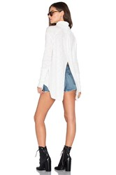 Free People L S Turtle Top Ivory