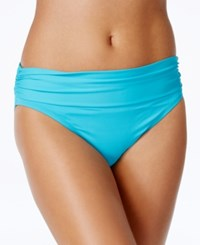 Bleu By Rod Beattie Foldover Bikini Bottom Women's Swimsuit Island Blue