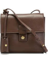 Desa 1972 Small 'Four' Crossbody Bag Brown