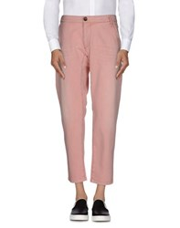 Armani Jeans Trousers Casual Trousers Men Pastel Pink