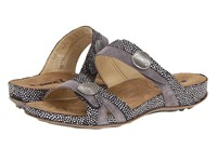 Romika Fidschi 22 Black Combination Women's Sandals Gray