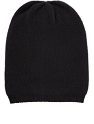Barneys New York Men's Wool Blend Beanie Black