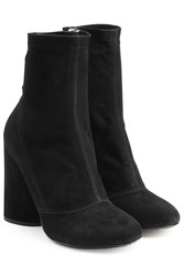 Marc Jacobs Suede Ankle Boots Black