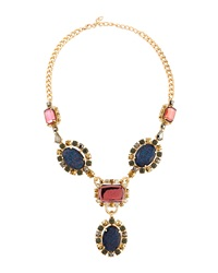 Fragments For Neiman Marcus Fragments Oval Crystal Station Necklace
