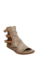 A.S.98 Ryde Sandal Taupe Leather