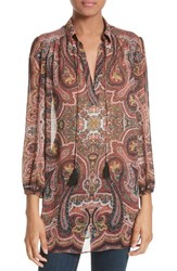 Alice Olivia Women's Sterling Tunic Paisley Scarf