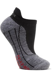 Falke Ergonomic Sport System Ru4 Invisible Knitted Socks Black