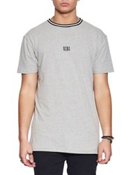 Nana Judy Equal Cotton Pique Jersey Tee Grey