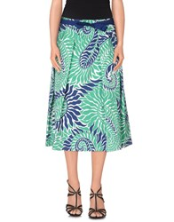 Giorgia And Johns Giorgia And Johns Skirts Knee Length Skirts Women Green
