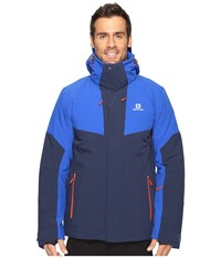 Salomon Icerocket Jacket Big Blue X Blue Yonder Men's Coat