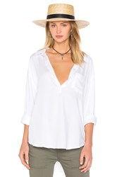 Rails Elle Button Down White