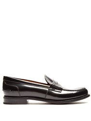 Church's Sally R Leather Penny Loafers Black