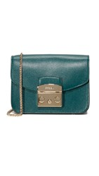 Furla Metropolis Mini Cross Body Bag Petrolio