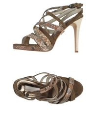 Schumacher Sandals Khaki