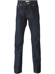 Officine Generale Slim Fit Jeans Blue