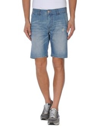 Sun 68 Denim Bermudas Blue