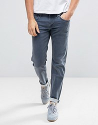 Pepe Jeans Hatch Slim Fit In Rinse Wash Blue