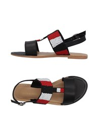 Giorgia And Johns Sandals Black