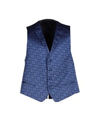 Luigi Bianchi Mantova Suits And Jackets Waistcoats Men Blue