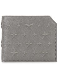 Jimmy Choo Albany Wallet Grey