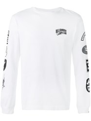 Billionaire Boys Club Aviation Print Sweatshirt White
