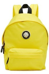 Versus By Versace Woman Shell Backpack Yellow