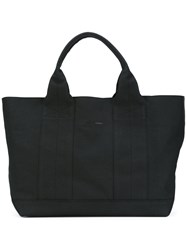 Tomas Maier Techno Tote Women Cotton One Size Black