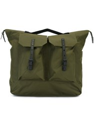 Ally Capellino Large 'Frank' Rucksack Green