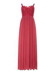 Vero Moda Sleeveless Cami Maxi Dress Red