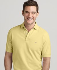 Tommy Hilfiger Classic Fit Ivy Polo Provence Yellow