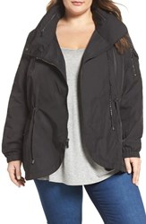 French Connection Plus Size Women's Tulip Hem Anorak