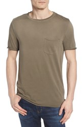 Ag Jeans Anders Slim Fit Pocket T Shirt Sun Faded Canyon Moss