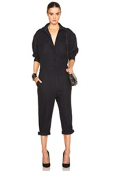 Nlst Officer Jumpsuit In Blue