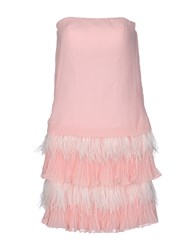 Musani Couture Short Dresses Pink