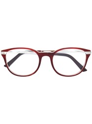 Cartier Santos De Glasses Brown