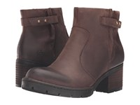 Born Nisbet Alce Full Grain Leather Women's Boots Brown