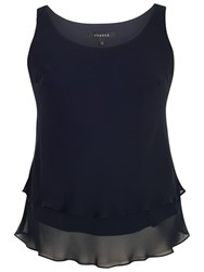 Chesca Double Layer Cami Dark Navy
