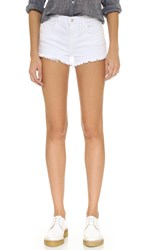 L'agence Zoe Perfect Fit Shorts Blanc