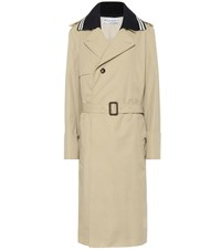 J.W.Anderson Cotton Trench Coat Beige