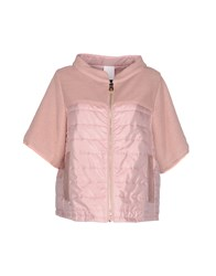 Bark Coats And Jackets Jackets Women Pastel Pink