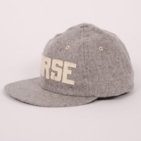 Norse Projects Vintage Wool Baseball Cap Grey