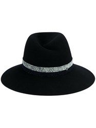 Maison Michel 'Kate' Fedora Hat Blue