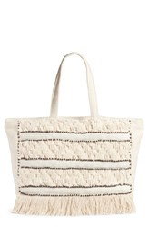 Amuse Society Tulemar Weekend Tote White Casablanca