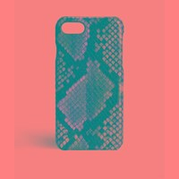 The Case Factory Iphone 7 8 Python Multicolor Sunset Pink