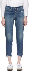 Chimala Blue Selvedge Narrow Tapered Cut Jeans