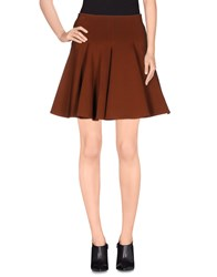 Plein Sud Jeans Plein Sud Skirts Mini Skirts Women Brown