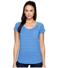 Kuhl Kyra Short Sleeve Shirt Atlantis Short Sleeve Pullover Blue