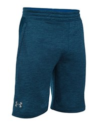 Under Armour Tech French Terry Athletic Shorts Blackout Navy