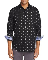 Robert Graham Inland Empire Classic Fit Button Down Shirt Black